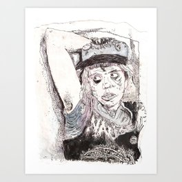 Pitstain. Art Print