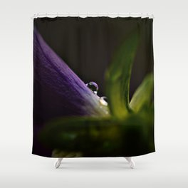 One Last Night Shower Curtain