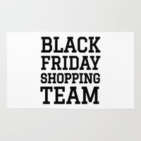 discount Area & Throw Rugs featuring Black Friday Shopping Team by CreativeAngel