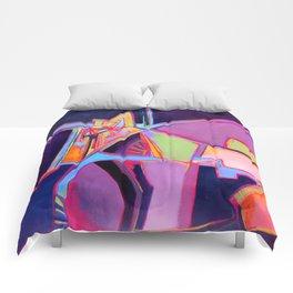 Fractal Gears Comforters