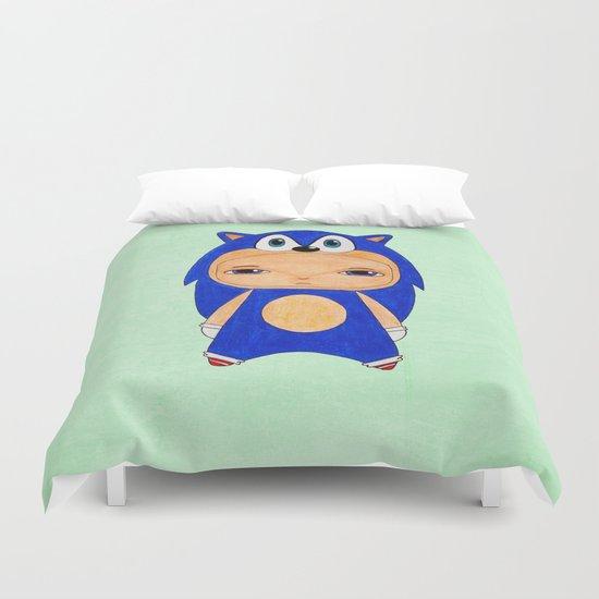 A Boy - Sonic the Hedgehog Duvet Cover