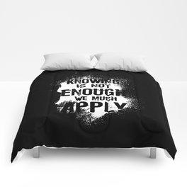 Quote 2 Comforters