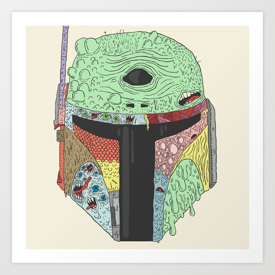 Gorba Fett Art Print