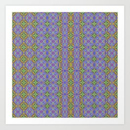 Designer One Block Wonder Quilt Art Print