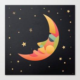 Imaginative Moon Canvas Print