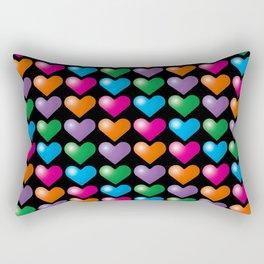 Hearts_B04 Rectangular Pillow