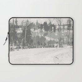 Once upon a time -winter Laptop Sleeve