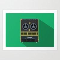 Alien: Isolation - Recorder Art Print