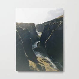 Iceland Landscape Photography Metal Print