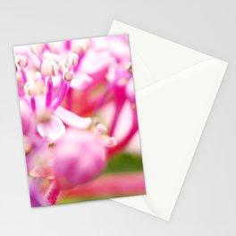 hortensie traum in pink Stationery Cards