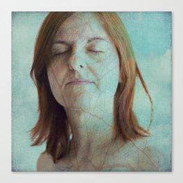 Impact of love Canvas Print