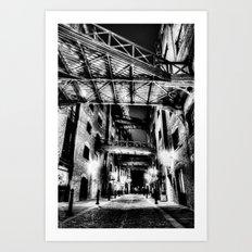 Jack the Rippers London Art Print