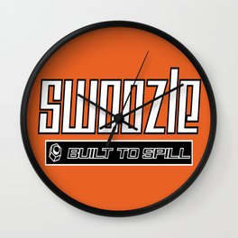 Swoozle - Never Say Die Wall Clock