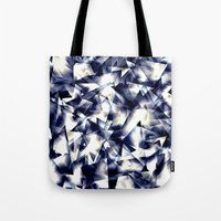 shining Tote Bags featuring Shining by llande