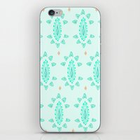 emerald iPhone & iPod Skins featuring Emerald by Laela's Heart
