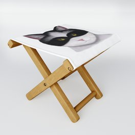 They call me the Masked Cat Folding Stool