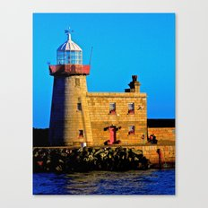 Howth Lighthouse Morning Canvas Print