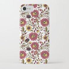 PUGS FLORAL Slim Case iPhone 7