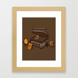 PANCAKES!! Framed Art Print