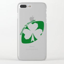 Rugby Ireland Clear iPhone Case