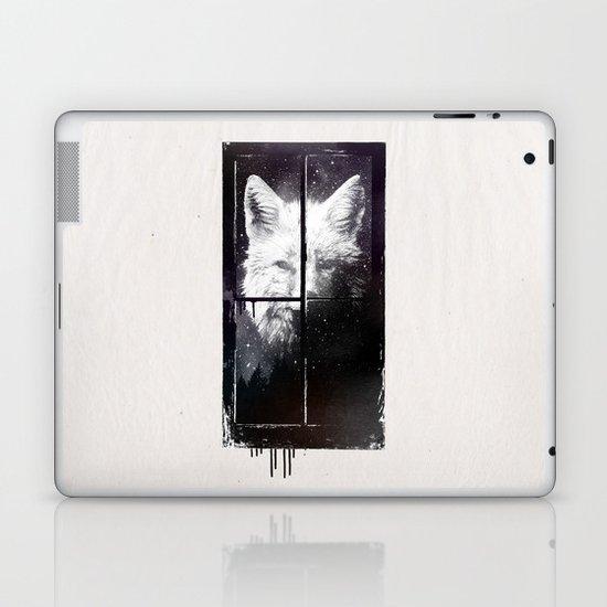 Night window Laptop & iPad Skin
