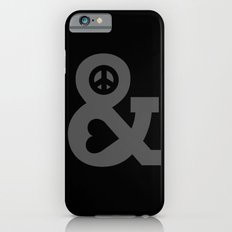 Peace and Love Slim Case iPhone 6s