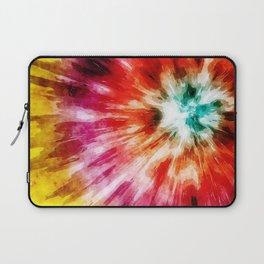 Vibrant Tie Dye Abstract Laptop Sleeve