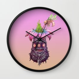 EVIL ROOTS, DELICIOUS NECTAR Wall Clock