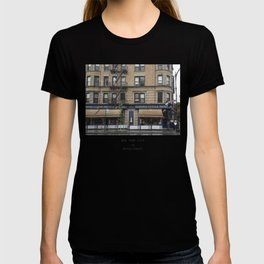 Drinking Sangria in Greenwich Village, NYC T-shirt