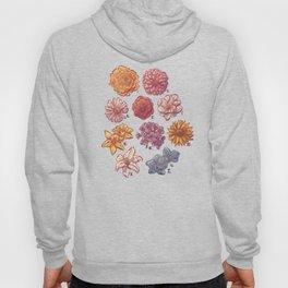 10 Flowers Hoody