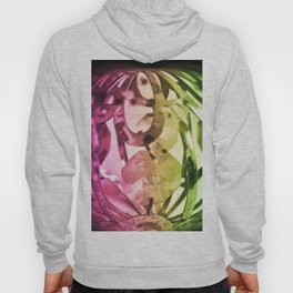 Lights and crystals - New age media Hoody