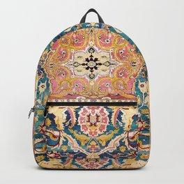 Amritsar Punjab North Indian Rug Print Backpack