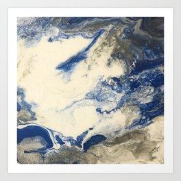 Cloudbank Trot Art Print