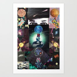 The Universe is Watching Art Print