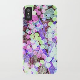 Dots & Leaves. iPhone Case
