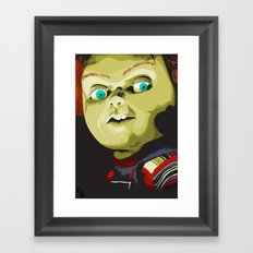 Wanna play?! Framed Art Print