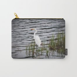 Egret Patiently Waiting Carry-All Pouch