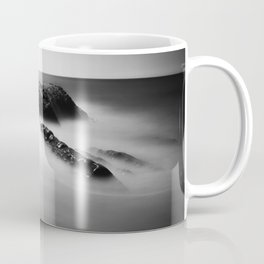 Uncovered Bowling Ball Beach Mendocino coast Coffee Mug