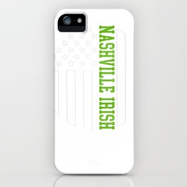 Nashville Irish designs by Howdy Swag product iPhone Case