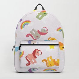 Rainbow Ponies Backpack