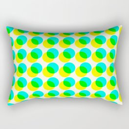 dots pop pattern 3 Rectangular Pillow