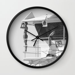 Tower 13 Wall Clock