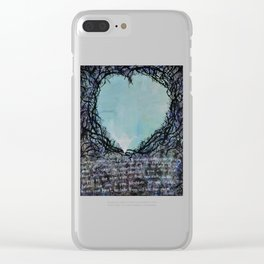 Out of the Darkness Clear iPhone Case