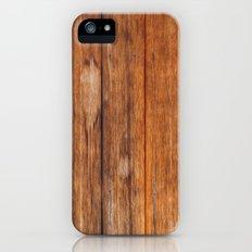 Natural Wood Planks Slim Case iPhone (5, 5s)