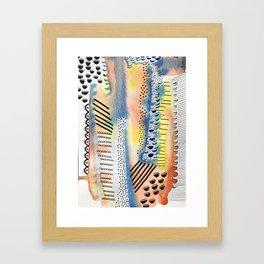 Exes & Oh Nos Framed Art Print