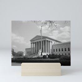United States Supreme Court Building - 1935 Mini Art Print