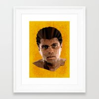 ali Framed Art Prints featuring Ali by Patrick Anthony Leverton