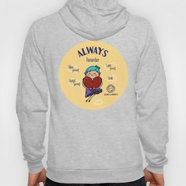 Always remember smile Hoody