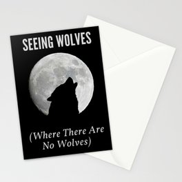 Seeing Wolves (Where There Are No Wolves) 05 Stationery Cards