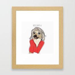 Celebrity Dogs-Kelly Ruff-A Framed Art Print